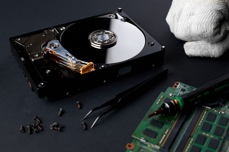 clean room hard disk recovery
